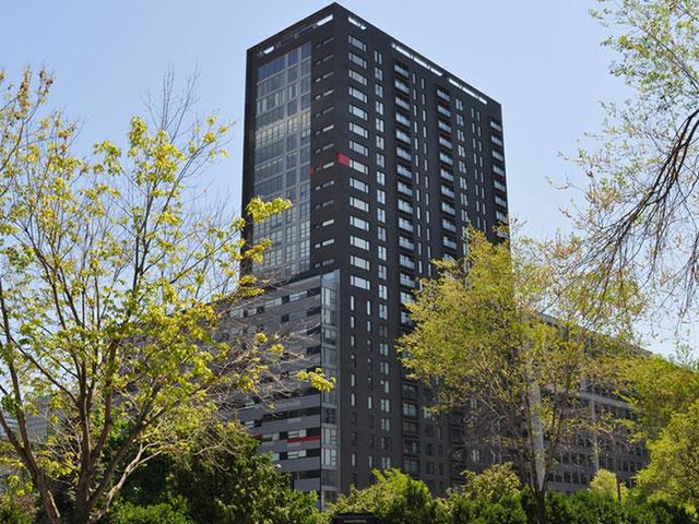 Condo rented, Montréal (Ville-Marie)