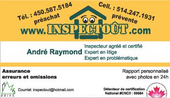 André Raymond Inspecteur
